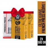 Oze All Day Blend Filtre Kahve 1000 Gr French Press Hediyeli