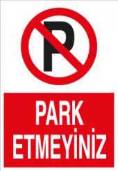 Park Etmeyiniz