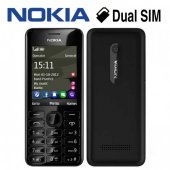 Nokıa 206 Cep Telefonu (Siyah) İthalat Sıfır...