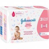 Johnsons Baby Hassas Islak Havlu 72 Li 12 Adet...