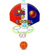 Büyük Boy Ahşap Fileli Basketbol Potası 53.5 Cm...