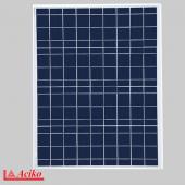 50W Polikristal Fotovoltaik Panel Güneş Enerjisi Paneli