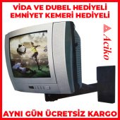37 Ekran Tv Duvar Askı Aparatı Tv Stand Tv Aparat...