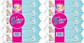 Uni Baby Wipes Islak Mendil 56lı Havlu Kapaklı 10 Adet 560 Yap.