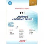 Esen Tyt Çözümlü 4 Deneme Sınavı Mavi Seri