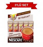 Nescafe 2si 1 Arada Şekersiz 10.5 Gr 48li Paket 3 Lü