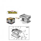 Titania Manuel Makarna Erişte Makinası