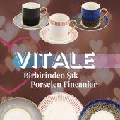 Vitale Porselen Kahve Fincanı Takımları 8...