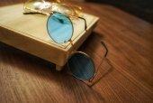 Mavi John Lennon Gözlük