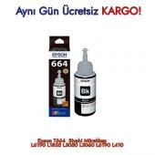 Epson T664 Siyah Mürekkep Orjinal L6190 L1855 L3050 L3060 L6190 L410