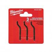 Milwaukee T48224257 Ağır Hizmet Tipi Çapak Temizleme Kalemi Yedeğ