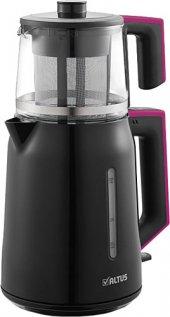 Altus Al 794 P Elektrikli Çay Makinesi Siyah Pembe (Arçelik)