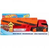 Ghr48 Hw Mega Tır (Kırmızı Turuncu) Hotwheels (Tekli Satılır)
