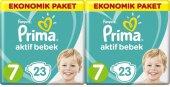 Prima Aktif Bebek Ekonomik Paket 7 Numara 23 X 2 46 Adet Bez (15+ Kg)