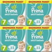 Prima Aktif Bebek Ekonomik Paket 7 Numara 23 X 4 92 Adet Bez (15+ Kg)