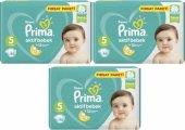 Prima Bebek Bezi 5 Numara 138 Adet Aylık Fırsat Paketi 3 Lü (11 16 Kg)
