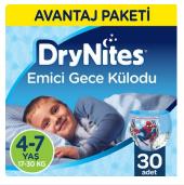 Huggies Drynites Erkek Emici Gece Külodu 4 7 Yaş 30 Adet