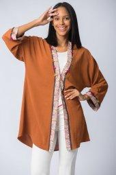 şifon Kimono Kiremit