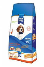 Paw Paw Puppy Kuzu Etli Pirinçli Köpek Maması 15 Kg