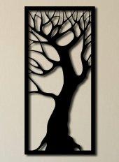 Metastil Ağaç Metal Tablo