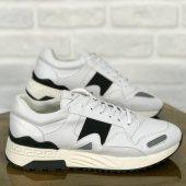 Günlük Erkek Ayakkabı Beyaz Siyah Şeritli Cc261...