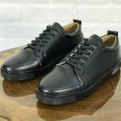 Günlük Erkek Ayakkabı Siyah Mat Cc228