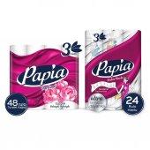 Papia Egzotik Tuvalet Kağıdı 48 Rulo & Papia...