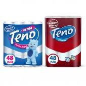Teno Tuvalet Kağıdı 48 Rulo & Teno Kağıt Havlu...