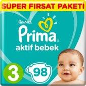 Prima Aktif Bebek 3 Beden Midi Mega Fırsat Paketi 98 Adet