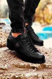 Milano Saphir Siyah 4 Mevsim Rahat Spor Ayakkabı
