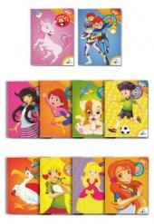 çocuklar İçin Boyama Kitabı Seti 10 Adet