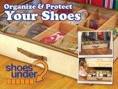 Shoes Under Ayakkabı Saklama Hurcu Çantası...