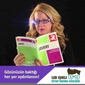 Led Kitap Gözlüğü Okuma Lambası Işıklı Camsız...