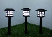 Sokak Lamba Tasarımlı Solar Bahçe Lambası (4 Adet)