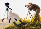Cep Telefonu Kamera Tripodu 140 Cm Tripod Ayağı