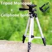 Cep Telefonu Kamera Tripodu 105 Cm Tripod Ayağı