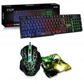 ınca Ikg 446 Mekanik Hisli Klavye + Gaming Oyuncu Mouse + Mouse P