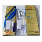Micro Şarj Aleti, Ve Hızlı Data Kablosu 1m Beyaz 2.4a