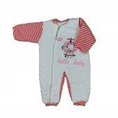 Kız Erkek Bebek Sevimli Fil Modelli Uyku Tulumu 3 4 Yaş Kırmızı C74073 3