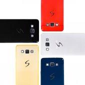 Samsung Galaxy E7 (E700) Luster Silikon Arka...