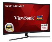 ViewSonic 32 VX3211-4K-MHD 4K 3840X2160 2xHDMI+DP HDR10 EĞLENCE TASARIM MONİTÖRÜ-2