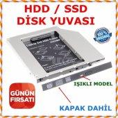 Ssd Caddy 9.5 Mm Dvd To Ssd Kızak 2 Hdd Bağlama...