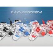 HADRON HD315 ŞEFFAF IŞIKLI TİTREŞİMLİ PC OYUN JOYSTİCK