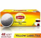 Lipton Yellow Label Demlik Süzen Poşet Çay 48...
