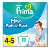 Prima Mayo Bebek Bezi 4 5 Beden 9 15 Kg 11 Adet