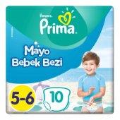 Prima Mayo Bebek Bezi 5 6 Beden 14+ Kg 10 Adet