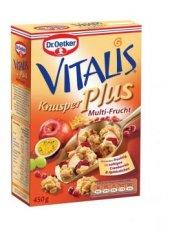 Dr.oetker Vitalis Multi Meyveli Çıtır Müsli 450 Gr