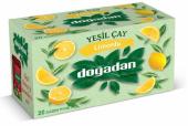 Doğadan Yeşil Çay Limonlu Çay 20 Adet