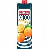 Dimes 100 Meyve Suyu Portakal 1 Lt