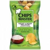 Chips Master Parti Boy Yoğurtlu Ve Mevsim Yeşillikleri Patates Cipsi 150 Gr